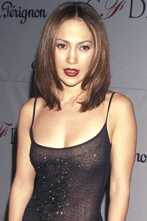 NEW YORK CITY - FEBRUARY 8:   Actress Jennifer Lopez attends the 17th Annual CFDA Awards on February 8, 1998 at JP Morgan Atrium in New York City. (photo by Ron Galella, Ltd./WireImage)