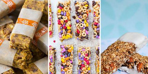 11 Homemade snack bar recipes