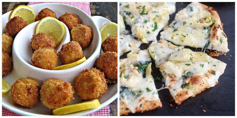 Finger food, Food, Green, Cuisine, Fried food, Dish, Ingredient, Recipe, Hushpuppy, Falafel,
