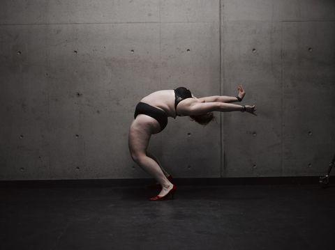 Fat dancer photos