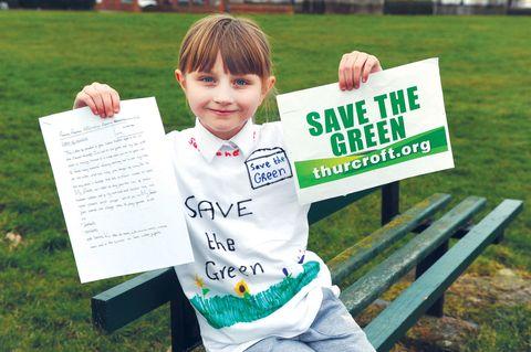 Isabel Gratton saved playground