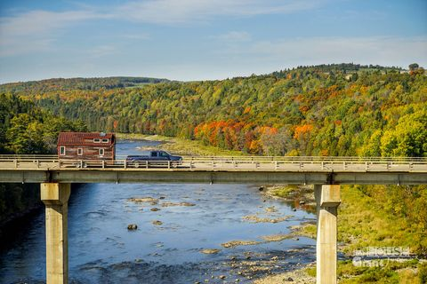Bridge, Natural landscape, Channel, Leaf, Landscape, Bank, Beam bridge, Girder bridge, Watercourse, Riparian zone,