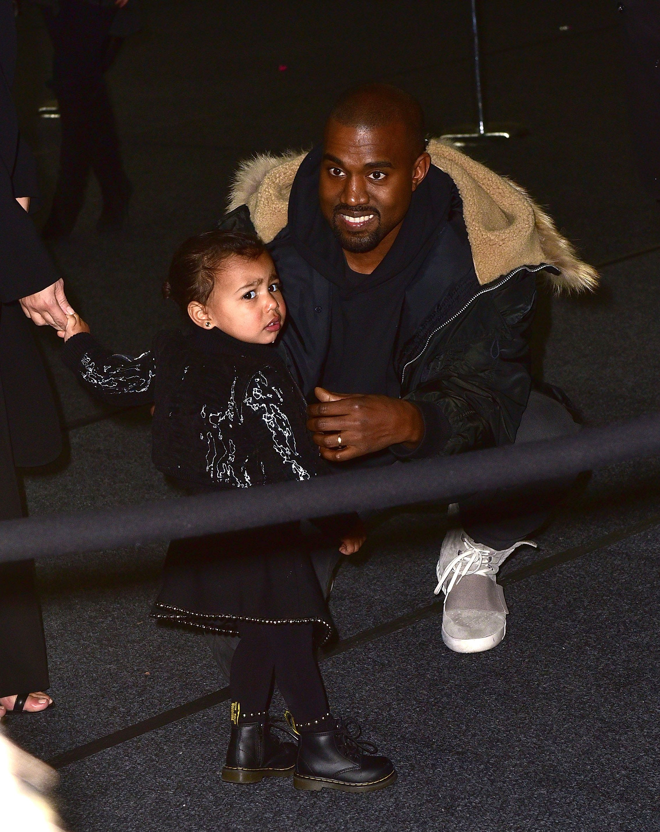 Kanye West Tattoos Daughter North Wests Birthday On His Wrists