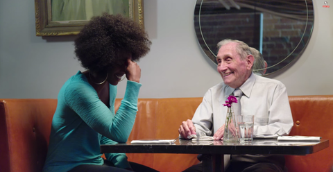 89-Year-Old Goes on Hilariously Awkward Tinder Dates with Unsuspecting Women