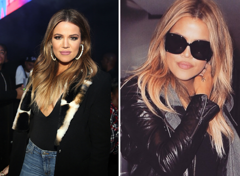 Celebrity Stunning Hair Transformations - Khloe Kardashian