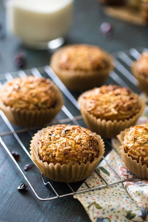 19 Delicious Quinoa Variations of Your Favorite Comfort Foods - coconut quinoa protein muffins