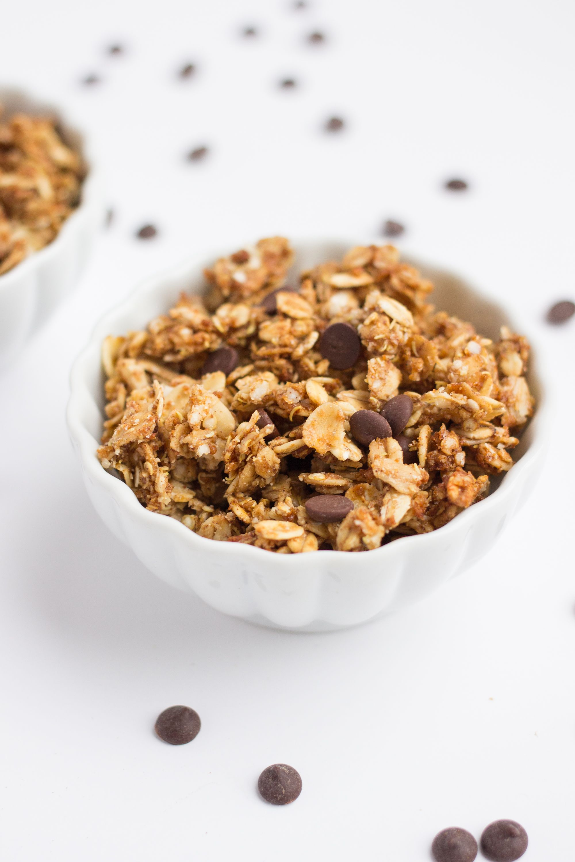 19 Delicious Quinoa Variations of Your Favorite Comfort Foods- oatmeal cookie quinoa granola