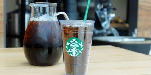 Starbucks cold-brew coffee