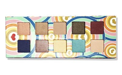 "These mineral eyeshadows—housed in a recyclable case—go on nice and velvety. <a href=""http://www.target.com/p/pacifica-power-of-love-coconut-infused-mineral-eye-shadow-palette/-/A-16765768"" target=""_blank"">Pacifica Power of Love Coconut-Infused Mineral Eye Shadows</a>, $20."