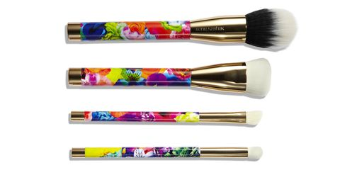 """A set of adorable, full-size makeup brushes that feel very luxe but cost next to nothing. <a href=""""http://soniakashuk.com/products/brush-couture-five-piece/"""" target=""""_blank"""">Sonia Kashuk Brush Couture Five-Piece Brush Set</a>, $16.99."""