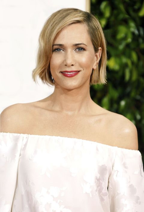 BEVERLY HILLS, CA - JANUARY 11:  Actress Kristen Wiig attends the 72nd Annual Golden Globe Awards at The Beverly Hilton Hotel on January 11, 2015 in Beverly Hills, California.  (Photo by Jeff Vespa/WireImage)