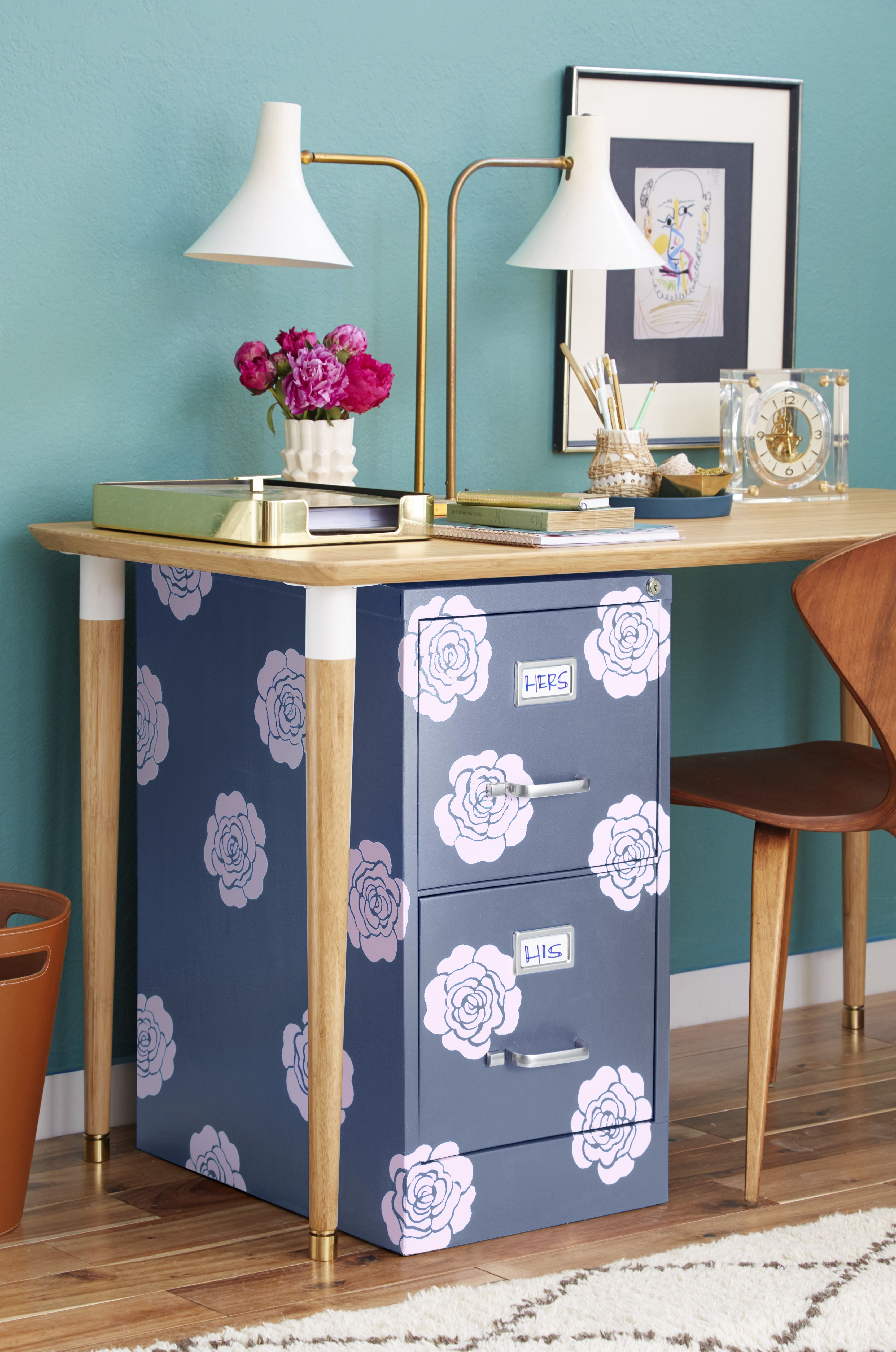 File Cabinet Makeover Diy For Your File Cabinet
