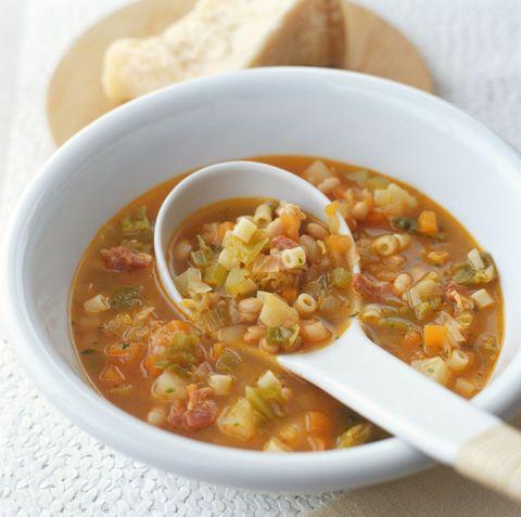 Food, Ingredient, Dish, Recipe, Stew, Spoon, Cuisine, Produce, Serveware, Comfort food,