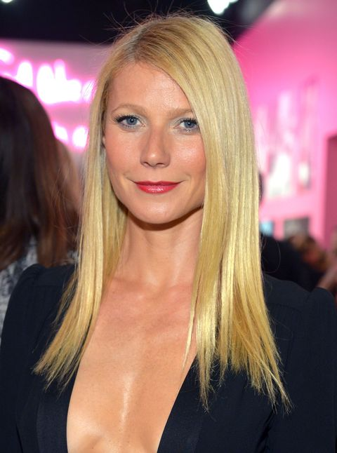 LOS ANGELES, CA - JANUARY 10:  Actress Gwyneth Paltrow, wearing Diane Von Furstenberg, attends Diane Von Furstenberg's Journey of A Dress Exhibition Opening Celebration at May Company Building at LACMA West on January 10, 2014 in Los Angeles, California.  (Photo by Charley Gallay/Getty Images for Diane Von Furstenberg)