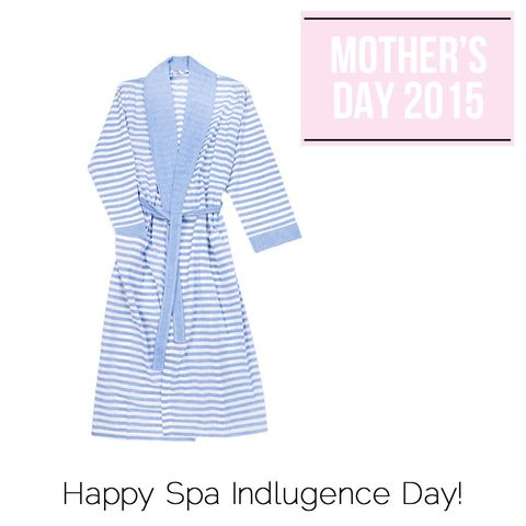 "A gorgeous robe paired with a spa gift card is the perfect gift for any mother in desperate need of a stress-free—<em>ehem</em> kid-free—afternoon. Can you say favorite child? Sorbet Long Bathrobe, $88; <a target=""_blank"" href=""http://www.turkish-t.com/collections/body/products/sorbet-long-bathrobe?variant=884690107"">Turkish T</a>."
