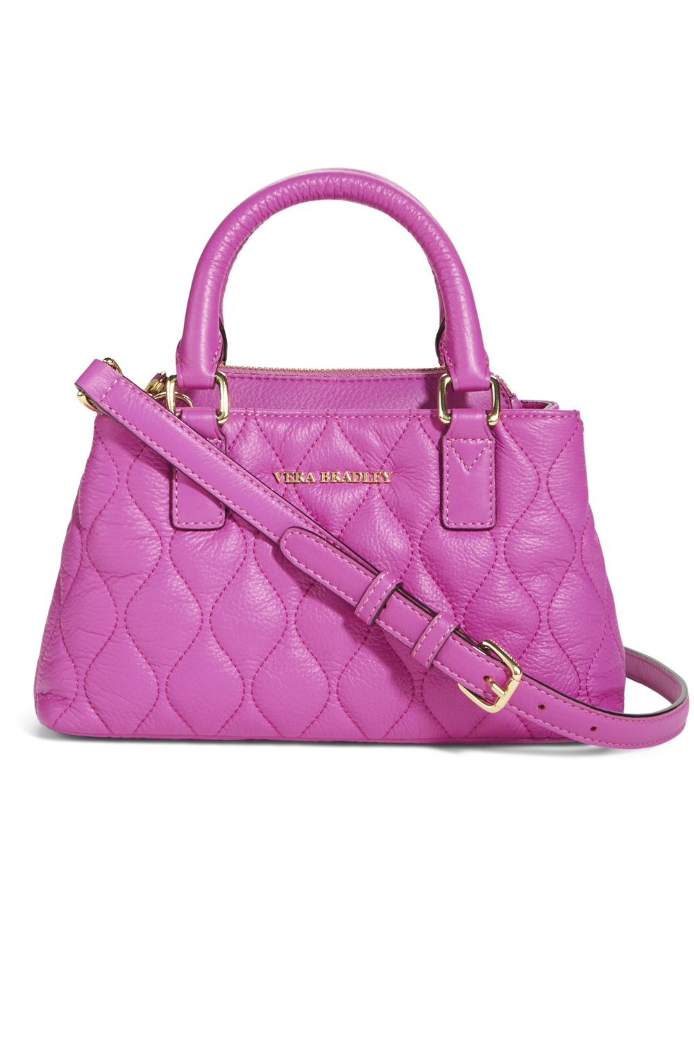 Quilted Emma Mini Crossbody, $168; Vera Bradley.