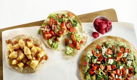 Hungry Girl tostadas