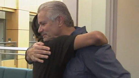 Officer Rescued Abandoned Baby Behind  A Dumpster. They Recently Reunited 25 Years Later.