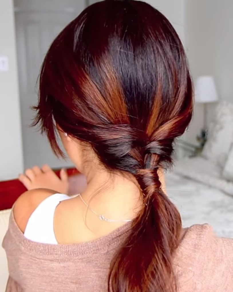Super-Easy Braided Pony