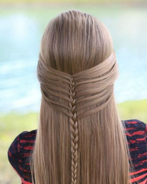 Mermaid Half Braid
