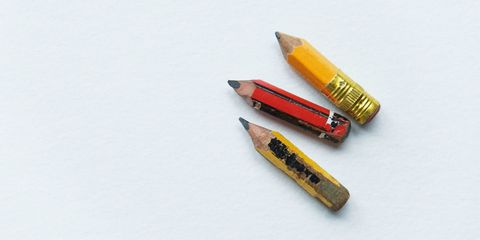 Writing implement, Yellow, Stationery, Office supplies, Amber, Colorfulness, Office instrument, Paper product, General supply, Cosmetics,