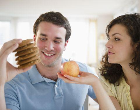 Couple on diet