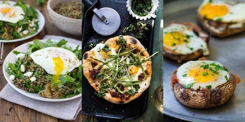 Food, Ingredient, Dish, Cuisine, Meal, Finger food, Recipe, Breakfast, Leaf vegetable, Tableware,