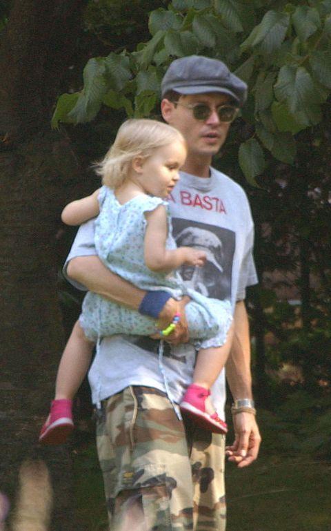 Johnny Depp and daughter Lily-Rose Depp