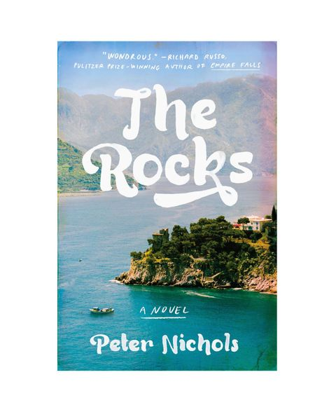 "Gerald and Lulu have lived on the same island for six decades without speaking. <a target=""_blank"" href=""http://www.amazon.com/Rocks-Novel-Peter-Nichols/dp/1594633312/ref=sr_1_1?s=books&amp;ie=UTF8&amp;qid=1433795837&amp;sr=1-1&amp;keywords=The+Rocks""><em>The Rocks</em></a> begins with a disastrous cliffside meeting, then spools back in time to reveal the truth behind the mysterious breakup of their short marriage and the shock waves it sent through their families. Missed connections, misunderstandings, and vacationers misbehaving abound in Peter Nichols's novel, set at and around a picturesque seaside resort in Mallorca, Spain."