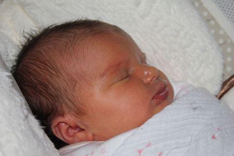 Cheek, Comfort, Skin, Forehead, Eyebrow, Textile, Child, Bedtime, Baby sleeping, Linens,