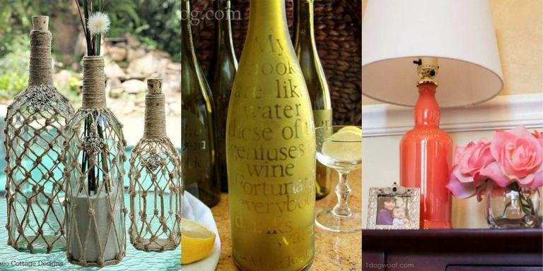 9 DIY Crafts You Can Make Using Empty Spirit Bottles - Cool Ideas ...