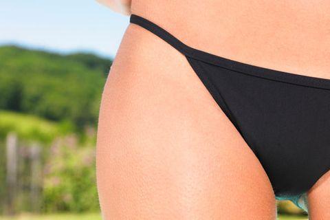 Human leg, Joint, Undergarment, Thigh, Undergarment, Briefs, Swimsuit bottom, Lingerie, Calf, Waist,