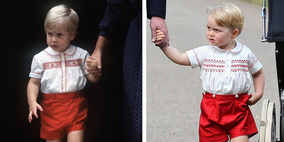 6 Times Prince George Looked Just Like Prince William