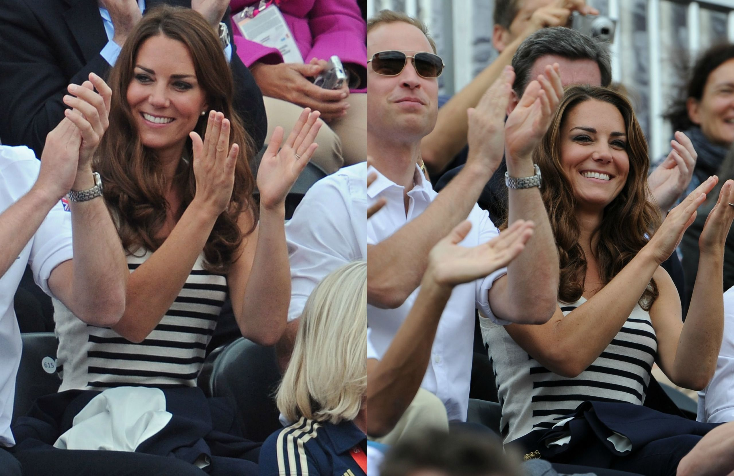7 Times Kate Middleton Proved Stripes Can Be Slimming