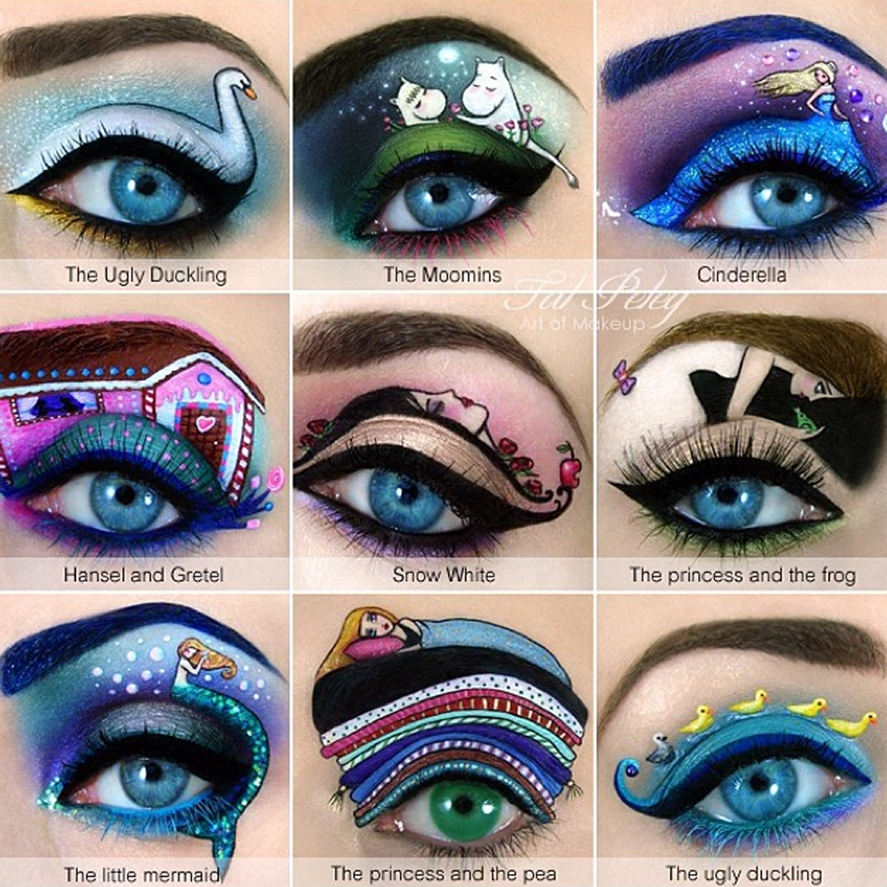 This Artist S Eye Makeup Ilrations