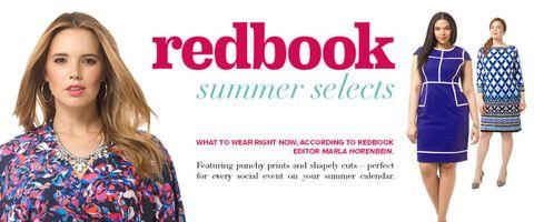 Redbook and Gwynnie Bee fashion picks