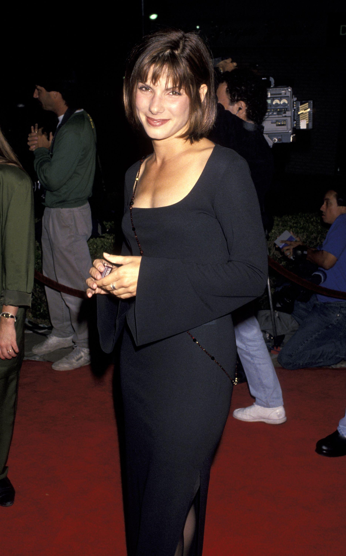 Sandra Bullock Bangs