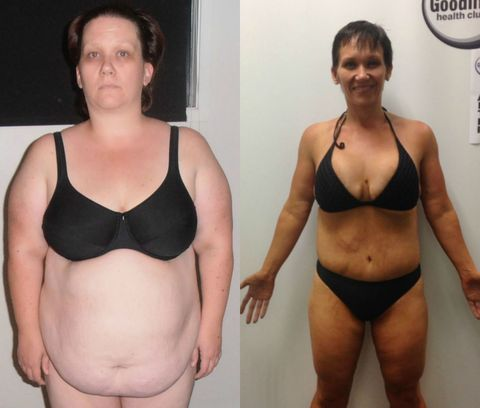Mom Loses Half Her Body Weight - Hayley Mitchell Weight Loss
