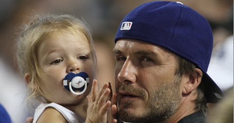 David Beckham Slams Article That Criticized Him For Letting 4-Year-Old Harper Use A Pacifier