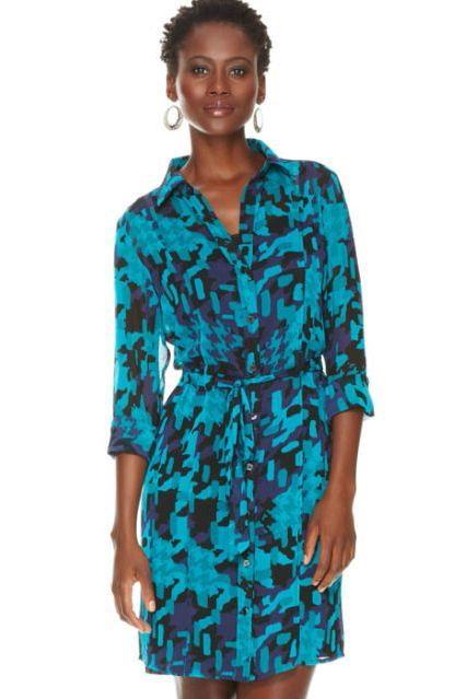 Blue, Sleeve, Green, Shoulder, Joint, Standing, Dress, Teal, Aqua, One-piece garment,