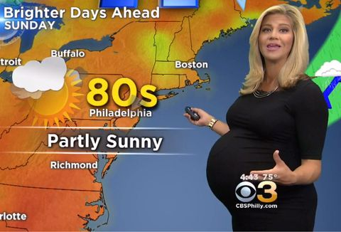 Katie Fehlinger, a meteorologist in Philadelphia, shut down body shamers.