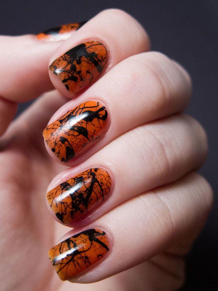 Charming 15 Halloween Nail Art Ideas   Halloween Nail Art Designs