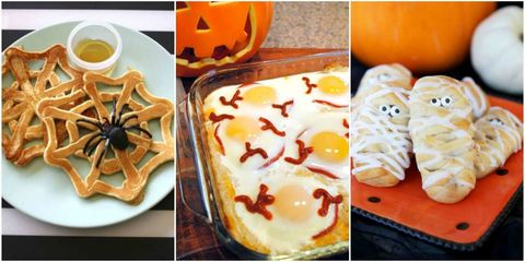 Easy halloween breakfast recipes 10 halloween breakfast ideas give everyone a good scare with a spooky spread of monster guts and spider eggs forumfinder Gallery