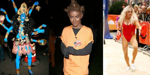 Worst Celebrity Costumes of All Time - Offensive Celebrity Costumes