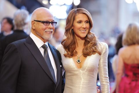 celin dion and her husband rene