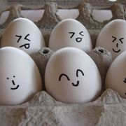 Ingredient, White, Collection, Egg, Egg, Oval,