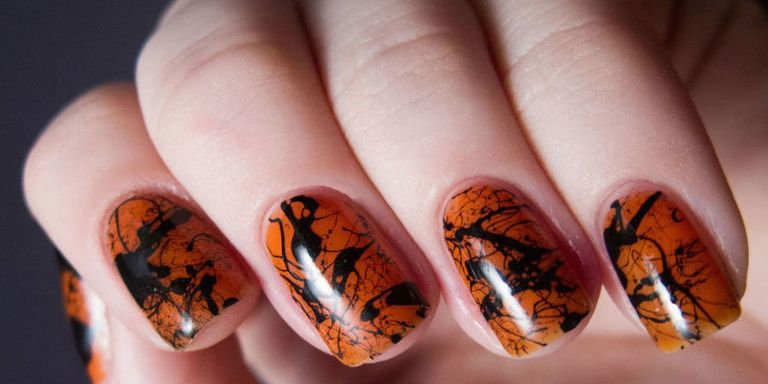 9 halloween nail art ideas halloween nail art designs take your pick of these scary simple designs theyre fun and spirited without the danger of looking as if you stole them from your 12 year old prinsesfo Gallery