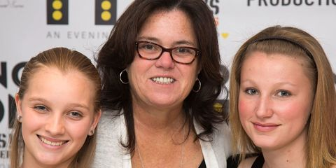 rosie o' donnell and her daughters