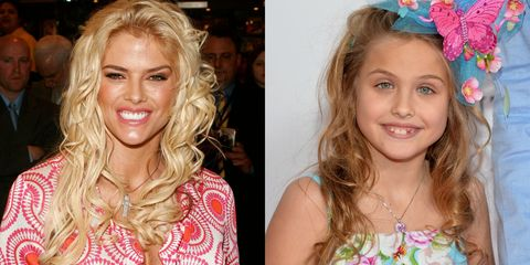 anna nicole smith and her daughter