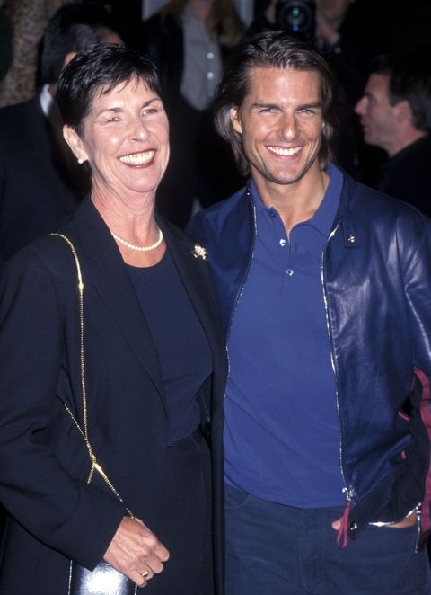 tom cruise and his mom